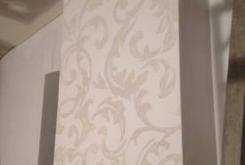 sgraffito design, stencil, marmorino palladino and tonachino firenze, lime based plaster
