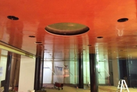 red venetian vancouver plaster ceilings