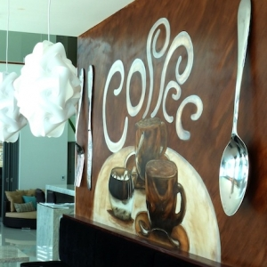 coffee wall